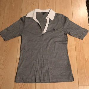 Brooks Brothers 3/4 Length Sleeve Polo